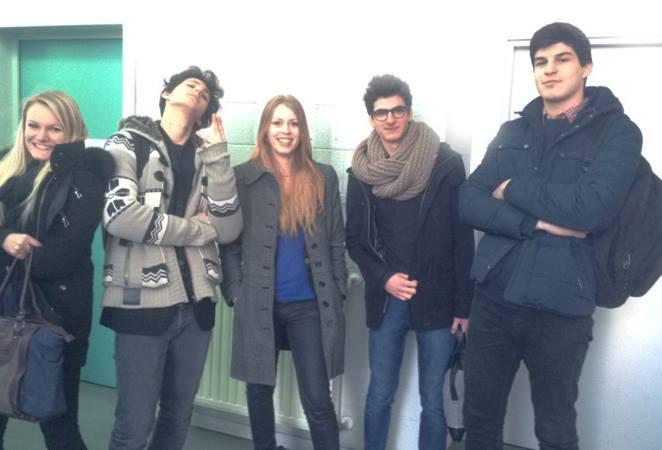 L'équipe de Strasbourg